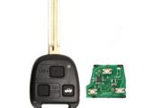 Ключ Toyota 433MHz 3 кнопки ДУ без чипа